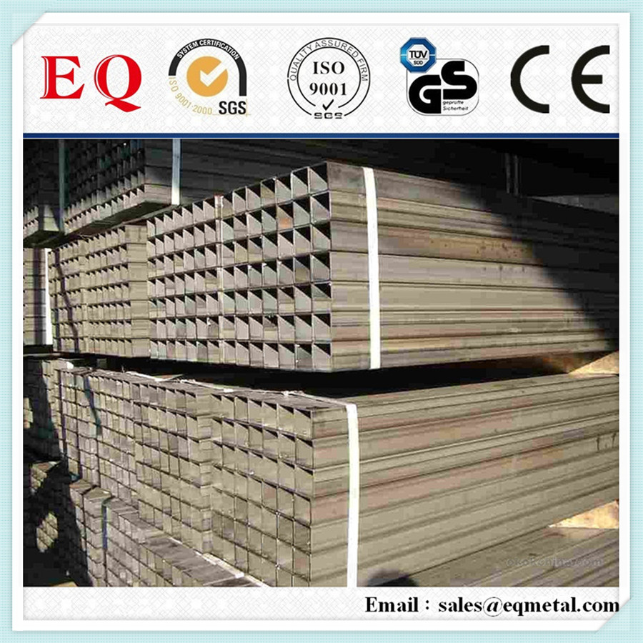 High strength welded Q235 Painted Cutting square/ rectangular tube