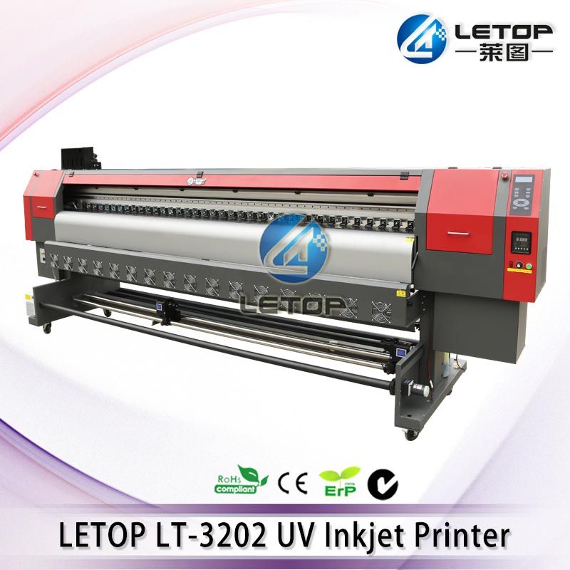 Brand new! LETOP LT-3200D 3.2M UV large format printer using double DX5/DX7 heads