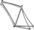 Cheap 700C titanium road bike frame TSB-WQR1001