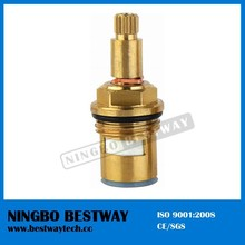 Quick open brass ceramic cartridge used for angle valve