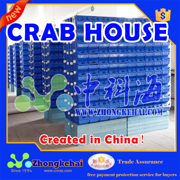 A new method of raising crabs crab loft