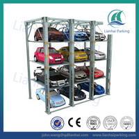hydraulic car storage parking system