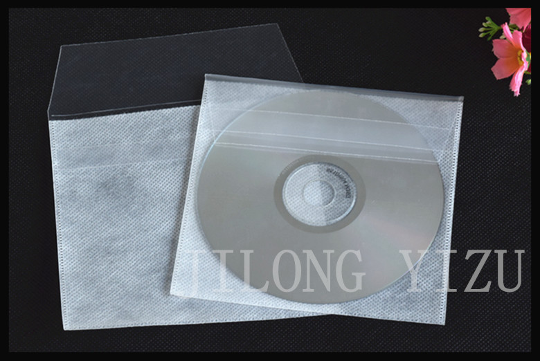 smooth/frosted non-woven cd sleeve