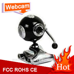 360 Degree Ultra HD PC Video Webcam with USB Driverless