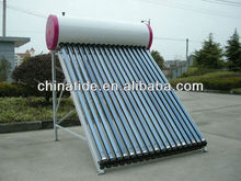 pressurized vacuum tube heat pipe solar water heater