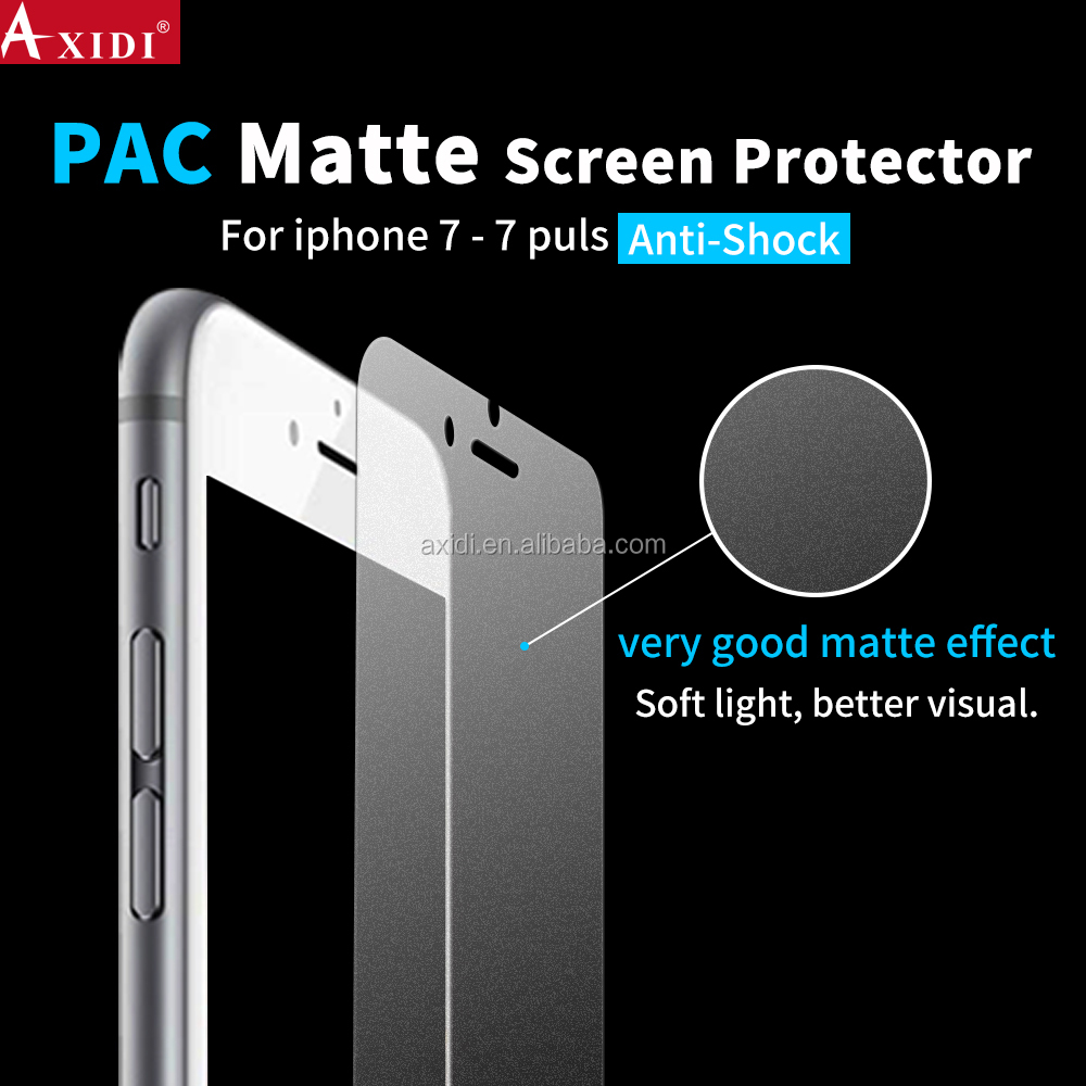 Clear Matte Anti Shock Screen Film for iPhone 7 7Plus Screen Protector