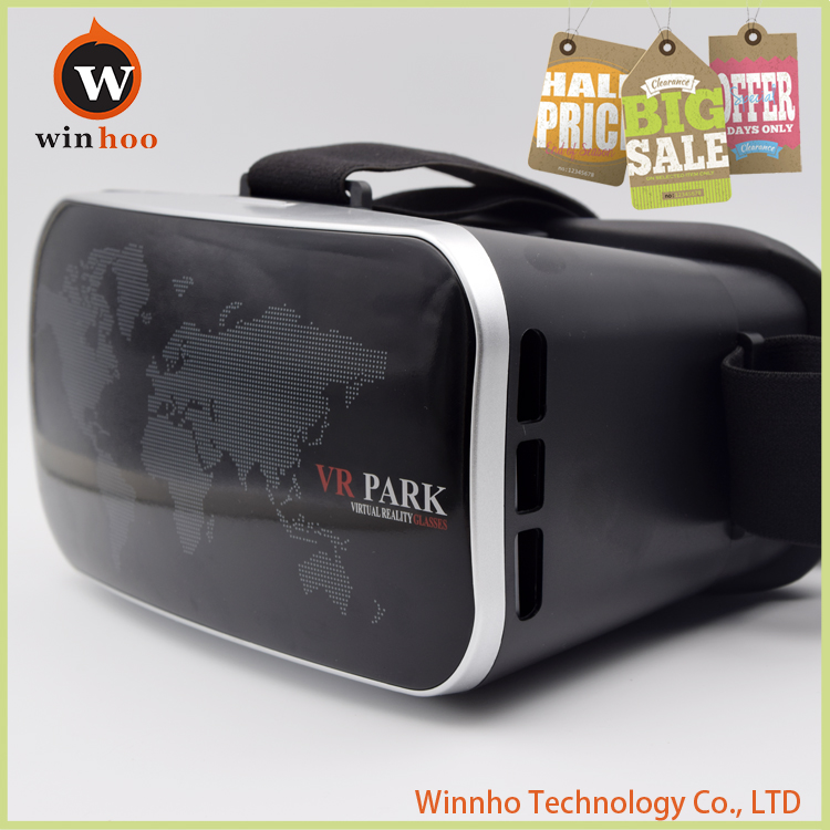 Winnho VR Park 3D Virtual Reality Glasses Box watch movies adult free 3d sex video
