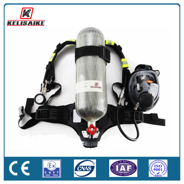 SCBA chemical factory safety protective device breathing apparatus