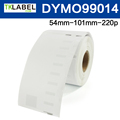 Dymo label 99014 compatible for thermal label roll 54 mm x 101 mm x 220pcs address label