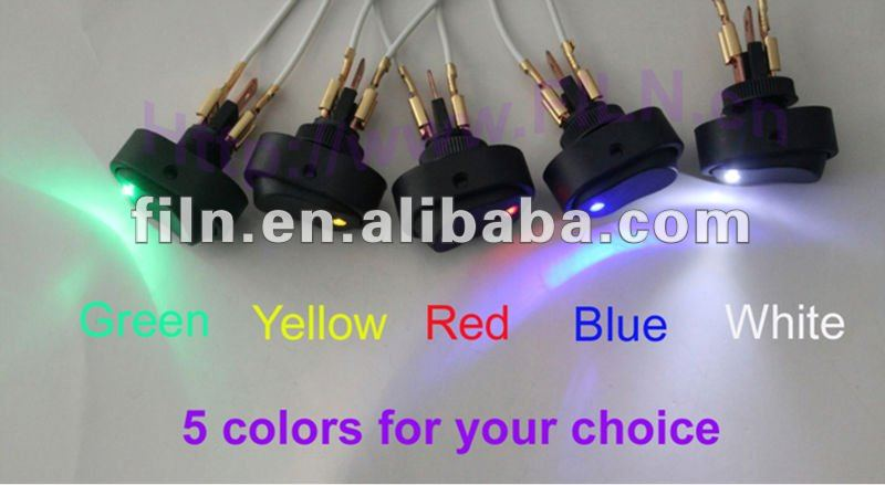 2012 new style DC 12V 30A LED oil pressure switch isuzu from China factory