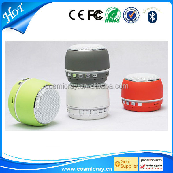 bottle bluetooth speaker with handsfree talk function,compatible with multimedia device.