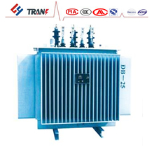 S9 125KVA Oil Immersed Power Distributing Transformers small high voltage transformer