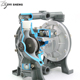 Gasoline Gas Suction Water Diaphragm Pump 1 Inch