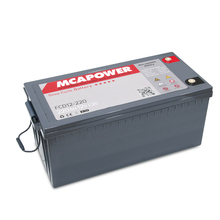 deep cycle AGM battery 12v 220ah backup battery for solar system