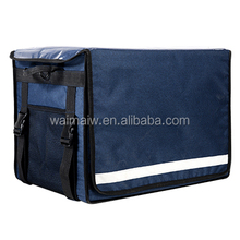 Simple and elegant design 62L insulated food delivery bags cooler bag motorcycle back box