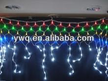 RGBled net light curtain light led raindrop in the end