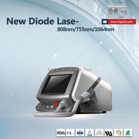 OEM ODM Services Welcome Super Laser Hair Removal Beauty Equipment Soprano 808 diode laser