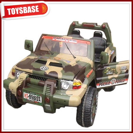 Toy army jeep