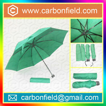 Europe standard 6 Style Promotional 3 Folding Umbrella for Gift