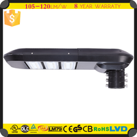 High Power Meanwell Driver 120w LED Solar Street Light ROHS Proved Area Light