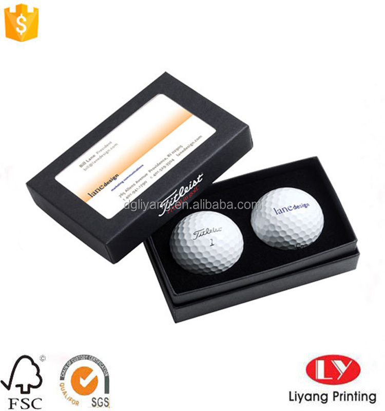 Luxury golf ball paper packaging box
