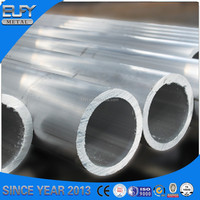High Quality Round Aluminum Alloy Extruded Tube 7075 T6 Temper Profiles For Aircraft