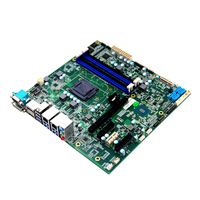 LGA1151 arm board 4k display mini itx motherboard with 2 ethernet ports motherboard