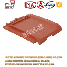 FT-5R10 Chinese clay matt finish wind-proof roofing tile