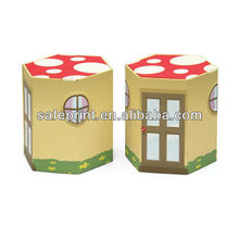 Custom Good Design Cardboard Chair , Cardboard Children Chair