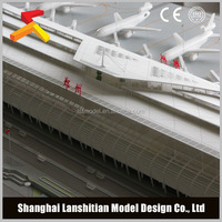 China architectural rendering model for airport design