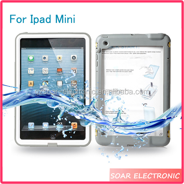[Soar]High Quality Waterproof Dirt Proof Hybrid Tablet Case For Ipad Mini, For Ipad Mini Cover