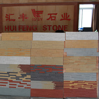 Chinese Natural Sandstone Culture Stone for Walls