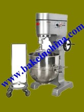 Cast Iron Factory Wholesale High Quality Heavy Duty planetary mixer used with Whisk, beater, Spiral and bowl