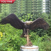 Flying Eagle Bronze Sculpture For Sale