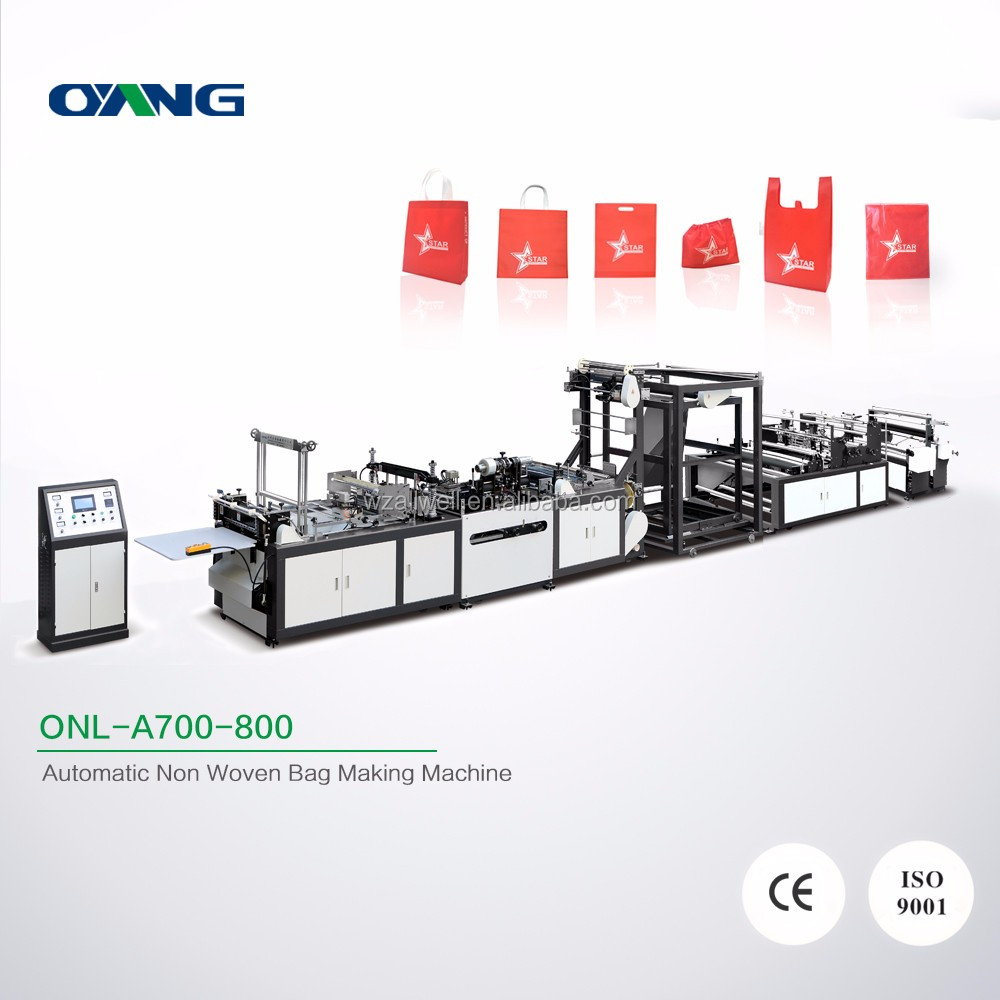 High performance Multi-function shopping bag making machine