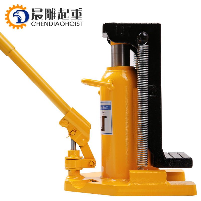Hydraulic Machine Toe Jack Lift 10/20T with Wooden Case