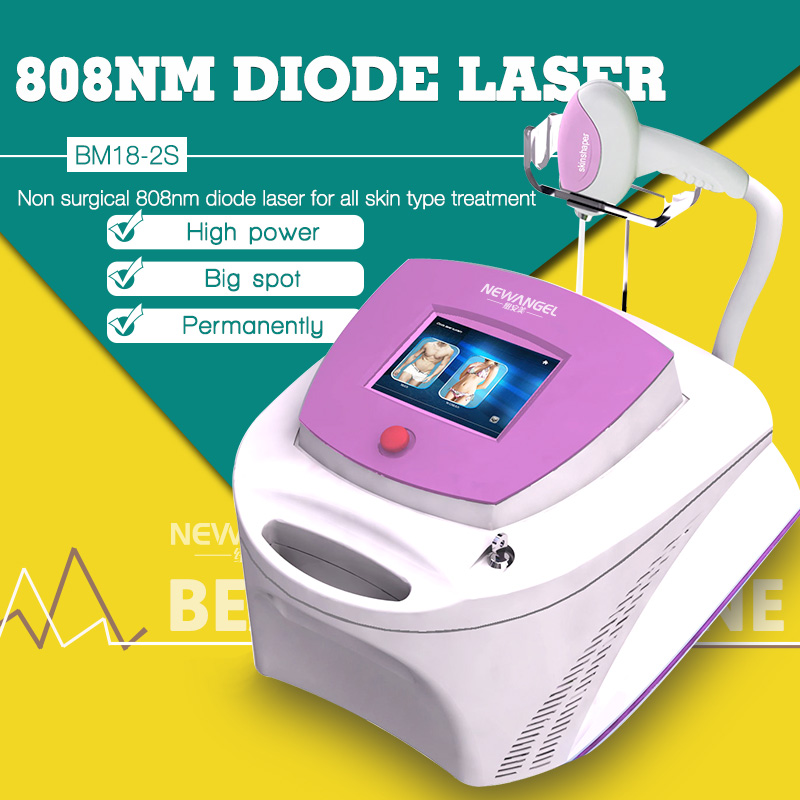 Germany imoprted bars diode laser beauty equipment / hair removal diode laser 808nm