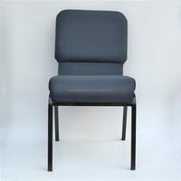 high quality stackable steel cheap padded church used chairs for sale