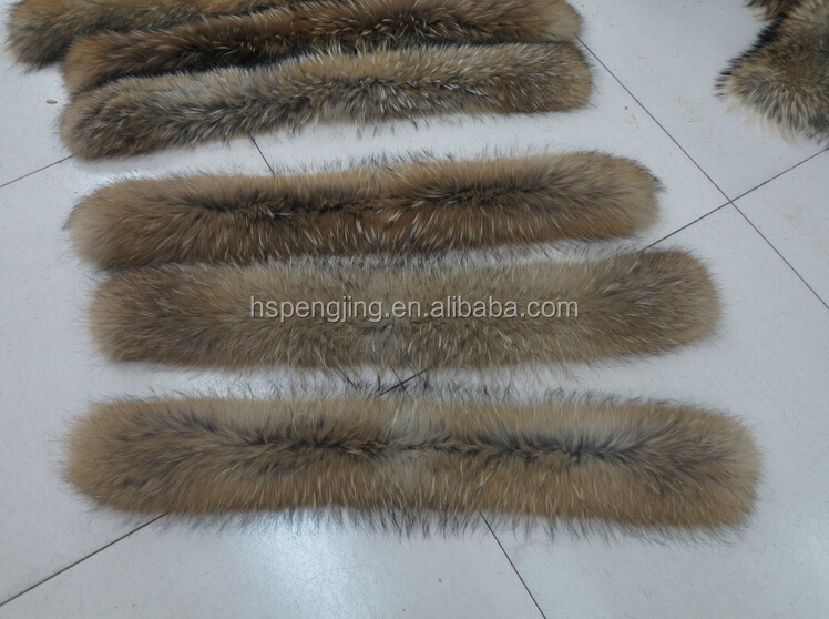 Hot-----Selling Fur Strip Raccoon Dog Trimming