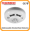 EN&UL High Quality Analogue Addressable Fire Alarm Smoke & Heat Detector