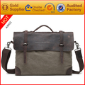 2017 new arrivals high quality fashion canvas messenger bag for men