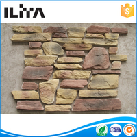 Man Made Stone Veneer Artificial Cultured Wall Decor Stone waterproof garage wall covering