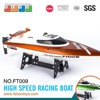 ft009 2.4G 4CH high speed large rc bait boat jabo fishing bait boat with water cooling system for sale CE/FCC/ASTM certificate