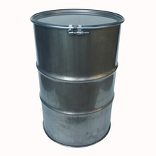 200 liter open stainless steel drum