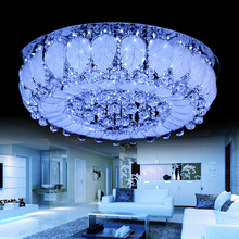 Zhongshan Fancy Cute Flower 600x600 Round Crystal Led Ceiling Lamp Light/Crystal Ceiling Lamp/Led Round Ceiling Light