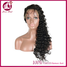 8A 9A 10A 11A 100% human hair virgin peruvian hair small cap cheap silk base full lace wig