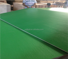 Hot pressed pure color melamine face plywood for sale