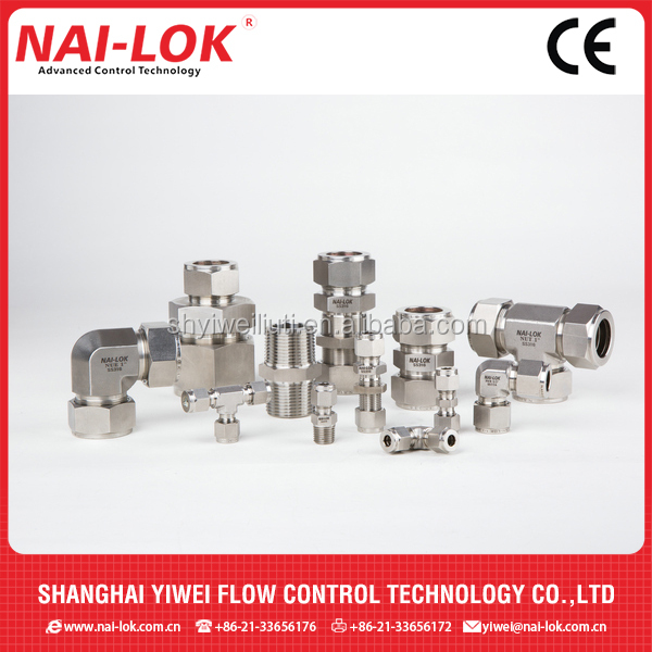 Compression Fitting/Stainless Steel Tube Fittings QC Connectors