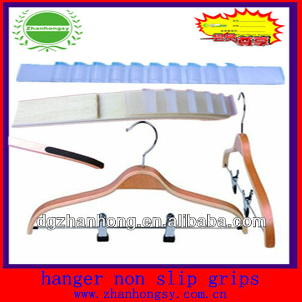 Bead coat hangers with Nonslip bar (silicone Antislip strips on the bar )