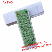 ZF White 48 Keys IRC-5103 Aone DVD Remote Control with Whole Gree PVC for DVD-5312 5315 5317 5318 5320 03D 5309